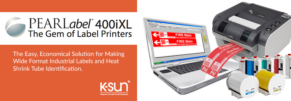 K-Sun PearLabel 400iXL General Label & Shrink Tube Printer